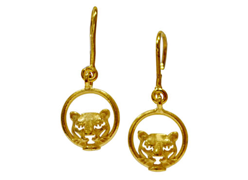 TOYECC - Goldsmiths Gold Plated Sterling Silver Drop Earrings