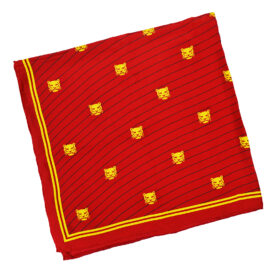 TOYECC - Goldsmiths Member's Pure Silk Scarf | Red