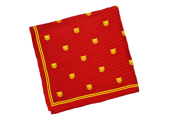 TOYECC - Goldsmiths Member's Pure Silk Scarf | Red