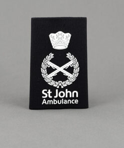 TOYECC - St John Ambulance NHQ Level R2 Rank Slide Black
