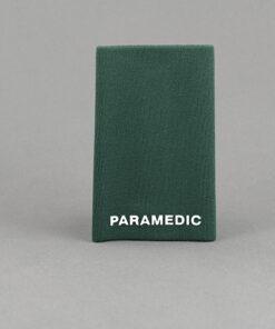 TOYECC - St John Ambulance Paramedic Rank Slider Green