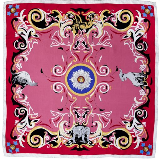 TOYECC - Order of the British Empire (OBE) 100% Silk Scarf