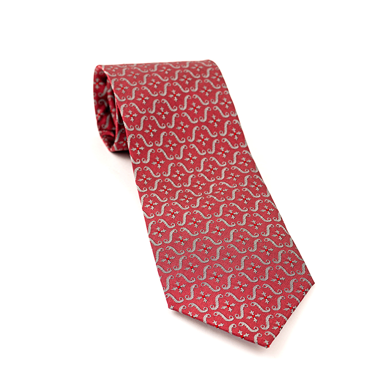 TOYECC - Order of the British Empire (OBE) Woven Silk Tie | Maroon
