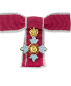 CBE Bow Mounted Ladies Miniature Medal - Commander of the Most Excellent Order of the British Empire - CBE medal for sale