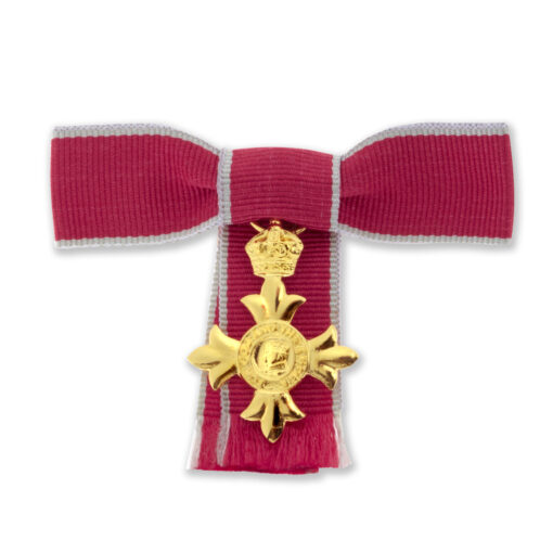 TOYECC - OBE Bow Mounted Ladies Miniature Medal | Civilian