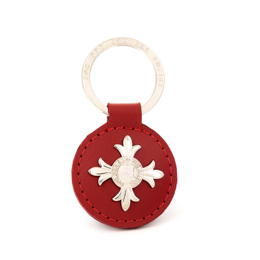 TOYECC - Order of the British Empire (OBE) Genuine Leather Key Fob