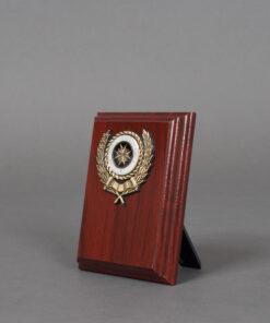 TOYECC - St John Ambulance 10cm Wooden Plaque