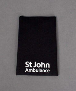 TOYECC -St John Ambulance Non Ranked Plain Rank Slide Black