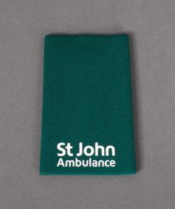 TOYECC - St John Ambulance Non Ranked Plain Rank Slide Green