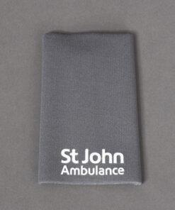 TOYECC - St John Ambulance Non Ranked Plain Rank Slide Grey