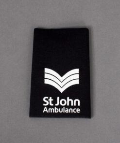 TOYECC - St John Ambulance Sergeant Rank Slider
