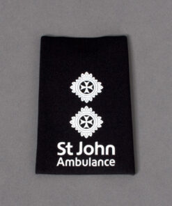 TOYECC - St John Ambulance Officer Grade 5 Rank Slide Black