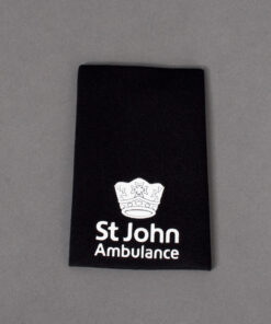 TOYECC - St John Ambulance Officer Grade 3 Rank Slide Black