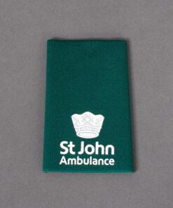 TOYECC - St John Ambulance Officer Grade 3 Rank Slide Green