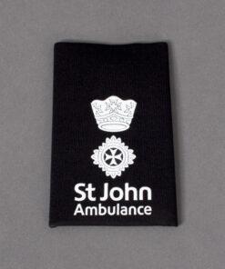 TOYECC - St John Ambulance Officer Grade 2 Rank Slide Black