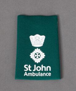 TOYECC - St John Ambulance Officer Grade 2 Rank Slide Green