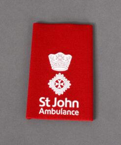 TOYECC - St John Ambulance Officer Grade 2 Rank Slide Red