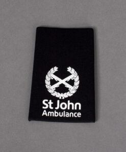 TOYECC - St John Ambulance Commander Rank Slider Black