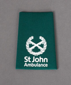 TOYECC - St John Ambulance Commander Rank Slider Green