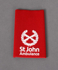 TOYECC - St John Ambulance Commander Rank Slider Red